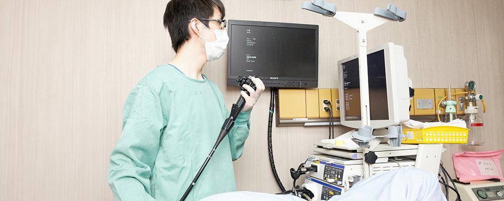 大腸内視鏡検査の流れ