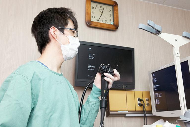 当院の内視鏡検査の特徴